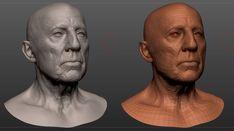 CGTalk - portrait attemp, Alex Huguet (3D)