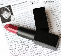 NARS Audacious Lipsticks in Audrey and Brigitte