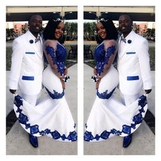 New White Satin Royal Blue Lace Aso Ebi African Prom Dresses Long Illusion Sleeves Applique Evening Formal Gowns Pageant Celebrity Dress Yellow Prom Dresses Ball Gown Prom Dresses From - African Print Wedding Dress, African Wedding Attire, African Attire, African Weddings, Nigerian Weddings, African Prom Dresses, Latest African Fashion Dresses, African Print Fashion, African American Fashion