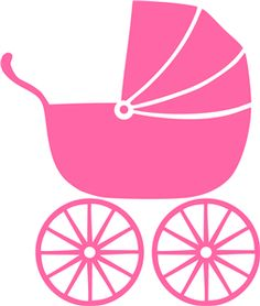 baby clipart girl cute pink baby carriage free clip art family rh pinterest com baby buggy clipart free baby buggy clipart