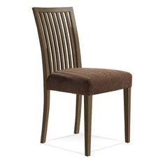 Saloom Furniture Model 24 Side Chair Finish: Nantucket, Upholstery: Raisin