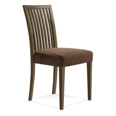 Saloom Furniture Model 24 Side Chair Finish: Nantucket, Upholstery: Raisin