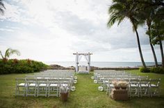 Beach wedding in Hawaii by Rachel Robertson Photography | Two Bright Lights :: Blog
