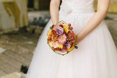 Ein schöner #Brautstrauss in herbstlichen #Farben. Foto: Ben Kruse