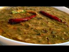 Winter's Special Sagpaitha Recipe ❤️ | Palak Ki Daal Recipe by Cook with Lubna ❤️ - YouTube Black Gram, Daal, Lentils, Cooking, Ethnic Recipes, Youtube, Food, Kitchen, Lenses