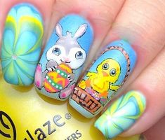 9 Simple Easter Nail Art Designs | Styles At Life