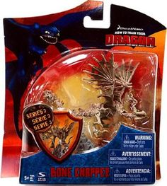 how to train your dragon action figures | ... How To Train Your Dragon BONE KNAPPER 3-4 inch - Collectible figure