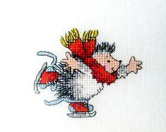 Резултат с изображение за cross stitch hedgehog Margaret Sherry
