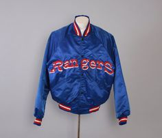 Hey, I found this really awesome Etsy listing at https://www.etsy.com/listing/475090907/vintage-80s-rangers-jacket-1980s-texas