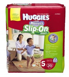 Save $3.00/1 Huggies Little Movers Slip-On Diapers Coupon! ONLY $3.64 @ Target!