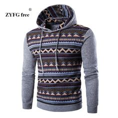 4 color optional men 2017 brand men's long-sleeved hoodie striped color sweatshirt fashion casual mens hooded sudaderas hombre