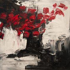 Red Blossom 2 by Kajal Zaveri