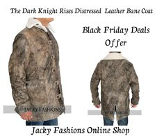 #TheDarkKnightRises #DistressedLeather #BaneCoat at #onlinestore Jacky Fashion Discounted Price #BlackFridayDeals Offer at Just Only $139.00  #Fashionable #Fashion #MenFashion #Fashionista #MenStyle #Male # FashionBlog #FashionBlogging #FashionKids #Stylish #FashionStyle #Vintage #DressUp #Collection #Outfit #menswear #fashionlover #fashionhub #clothing #clothes #celebs #heros #fashion #celebrities #amazon #usafashion #entertainment #streetwear