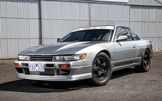 Download wallpapers Nissan Silvia S13, tuning, japanese cars, coupe, Nissan