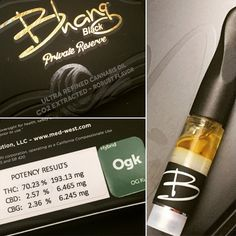 The award winning cartridge is back with a vengeance after becoming one of the industry's highly sought after items! Filled with the purest CO2 extracted cannabis oil, the Bhang Black Private Reserve cartridge carries retained natural terpenes to maintain its true flavor for connoisseurs to enjoy.
