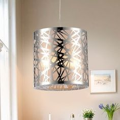 Overstock Pendant Lights Custom Warehouse Of Tiffany Evelyn 1Light Chrome 10Inch Crystal Pendant Decorating Design