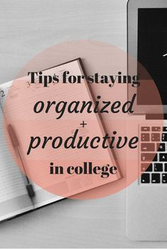 It's still back to school month, so I wanted to write about something that could help you peeps who are heading back to your college towns (or high schools!) soon, and there's nothing I love more than organization (I am the list queen). So, today I thought I would share with you some tips I use to stay organized and on track during the school year, and I also wanted to talk about my favorite planner that I have been using recently. Yay!