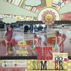 Using Simple Stories Summer Fresh collection - Ashley Horton
