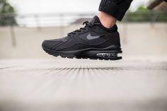 """Nike Air Max 93 """"Triple Black"""" Pricetag: 169 USD  #shoes #sneakers #nike #airmax93 #nikeairmax #airmax #tripleblack"""