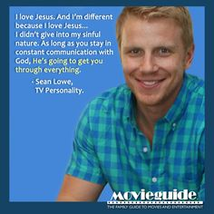 Sean Lowe - TV Personality from DANCING WITH THE STARS & THE BACHELOR...