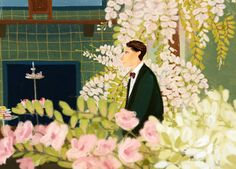 The Great Gatsby by Oamul Lu, via Behance