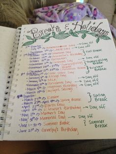 How one family keeps track of their Charlotte mason/Unschooling lifestyle