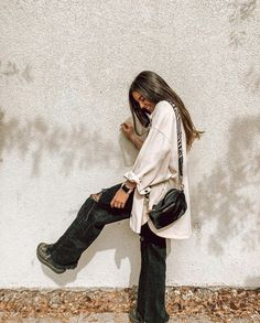 Minimalist Street Style, Casual Street Style, Baddie Outfits Casual, Cute Outfits, Winter Looks, Fashion Killa, Winter Outfits, Autumn Fashion, Vintage Outfits