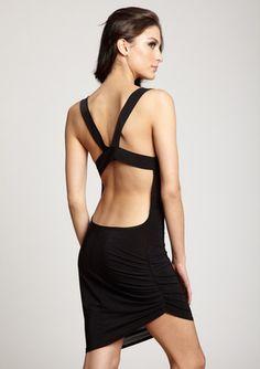 $39 Josh Brody Asymmetrical Hem Drape Dress
