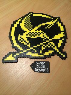 MockingJay Pin. via SuperJade Designs. Click on the image to see more!