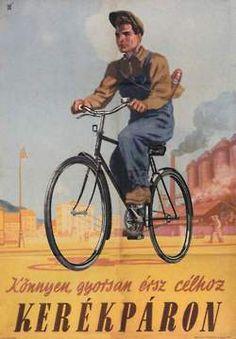 Könnyen, gyorsan érsz célhoz kerékpáron.