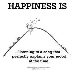 LISTENING TO A SONG THAT PERFECTLY EXPLAINS YOUR MOOD AT THE TIME