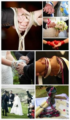 Handfasting is a beautiful way to literally tie the knot with your partner!