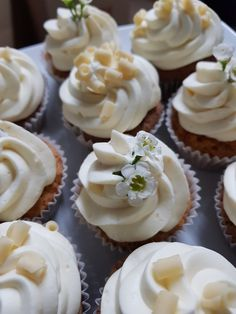 Cupcakes, weiße Schokolade, Zitrone, Candy Bar, Sweet Table, Muffins, ohne Fondant Cakepops, Mini Cupcakes, Fondant, Muffins, Candy, Bar, Sweet, Table, Desserts