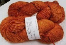 Two Skeins of Pumpkin King Yarn; would love to win this.  Great for all my fall and winter knitting.