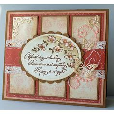 Serendipity Stamps Large Dogwood Branch and Yesterday Is rubber stamps