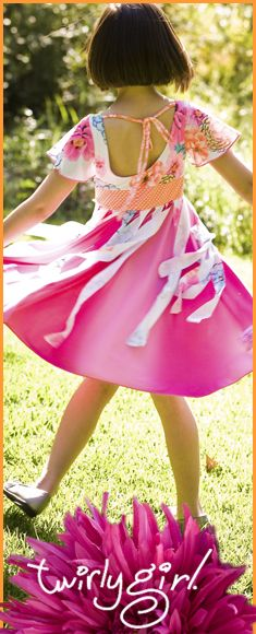 Girls holiday clothes from TwirlyGirl.  Proudly Made in the USA. CLICK HERE.  #girls-holiday-clothes