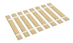 Find The Furniture Cove Queen Size Bed Slats - Bunkie Boards online. Shop the latest collection of The Furniture Cove Queen Size Bed Slats - Bunkie Boards from the popular stores - all in one Mattress Frame, Mattress Springs, Bed Mattress, Sofa Bed, Folding Bed Frame, Bed Boards, Bed Slats, Bed Rails, Greta