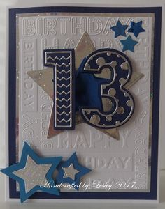 birthday card for men handmade 62 New Ideas Grandson Birthday Cards, Cricut Birthday Cards, Special Birthday Cards, Homemade Birthday Cards, Birthday Cards For Boys, Bday Cards, Birthday Greeting Cards, Teenage Boy Birthday, Birthday Numbers