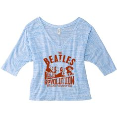 Custom Made T Shirts T Shirt Music Beatles Wear Fans Tee Band Shirts... ($25) ❤ liked on Polyvore featuring tops, t-shirts, black, women's clothing, black tee, graphic tees, henley t shirt, t shirts and crop shirts