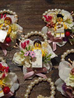 Items similar to Handmade with LEGO bricks bracelet for bride and bridesmaids, wedding gift. Corsage Wedding, Wedding Bouquets, Wedding Favors, Wedding Flowers, Wedding Decorations, Wedding Cakes, Lego Wedding, Wedding Tips, Our Wedding