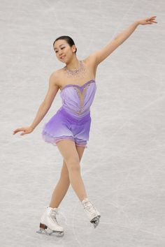 Mao Asada of Japan reacts after the Ladies Short Program during ISU World Figure Skating Championships at Saitama Super Arena on March 27, 2014 in Saitama, Japan.