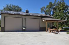 Shed Makeover - Insights On Plans In Diy Shed Plans - Mc Geehan Garage Building Plans, Metal Shop Building, Building A Shed, Morton Building, Building Art, Metal Garage Buildings, Pole Buildings, Shop Buildings, Shed Makeover