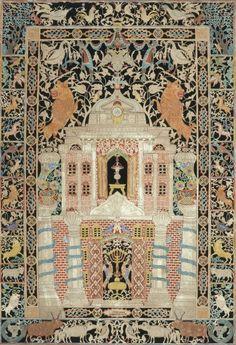 The Jewish Museum | Mizrah, Israel Dov Rosenbaum, Judaica, Ceremonial Art ca 1877