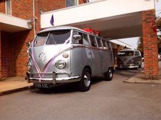 Personalised funeral Volkswagen Hearse and family bus