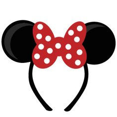 Awesome site for Disney files!  Mouse Ears Girl SVG cut files for scrapbooking