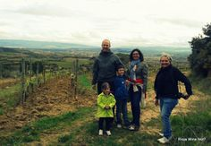 Nice wine tour with a french family.