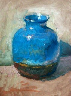 Christopher L Cook, blue jar 2014