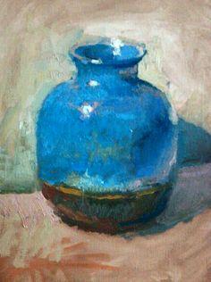 Christopher L Cook, blue jar 2014
