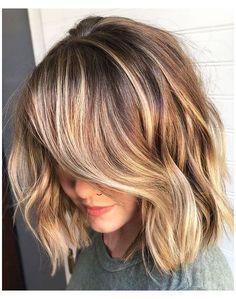 Brown Blonde Hair, Brown Hair With Highlights, Short Blonde, Brown Hair Colors, Brunette Hair, Dark Hair, Color Highlights, Blonde Highlights Short Hair, Dark Blonde