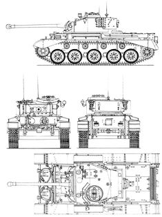Comet tank profile - while in many ways the Comet was the first British tank of WW2 which take on all the Mark 4, Panther and Tiger tanks on equal terms it was not perfect, lacking fully sloping amour and only a 10mm thick floor. In addition it suffered the same problem as Cromwell with rather snug hatches which meant it wasn't easy for the crew to get out in a hurry (in the event of a burning tank, especially if there were wounded crew).